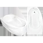 Акриловые ванны Стар