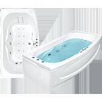 Акриловые ванны Джени