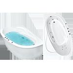 Акриловые ванны Белла