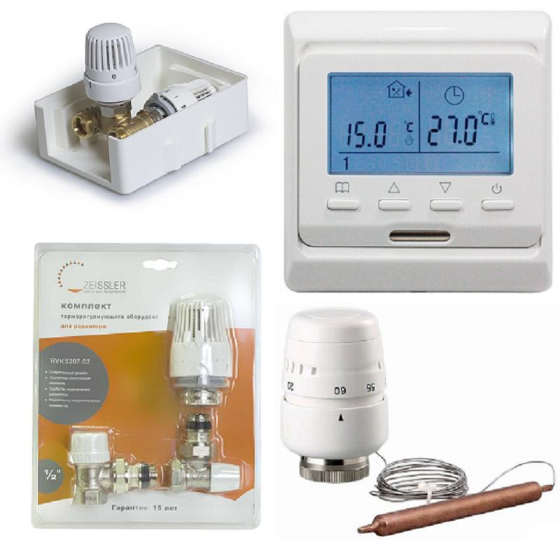 Термостаты и термоголовки